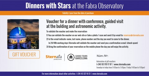 Dinner with stars