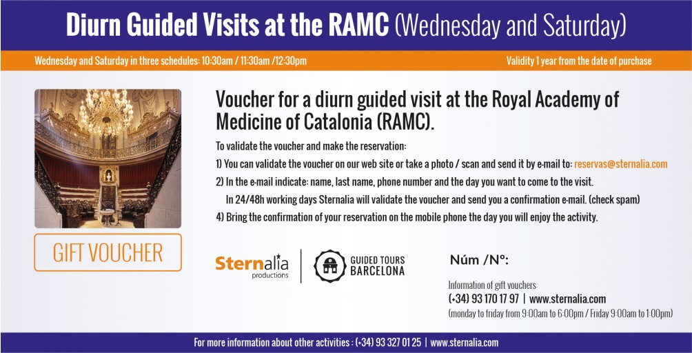 DAY GUIDED VISITS a la RAMC