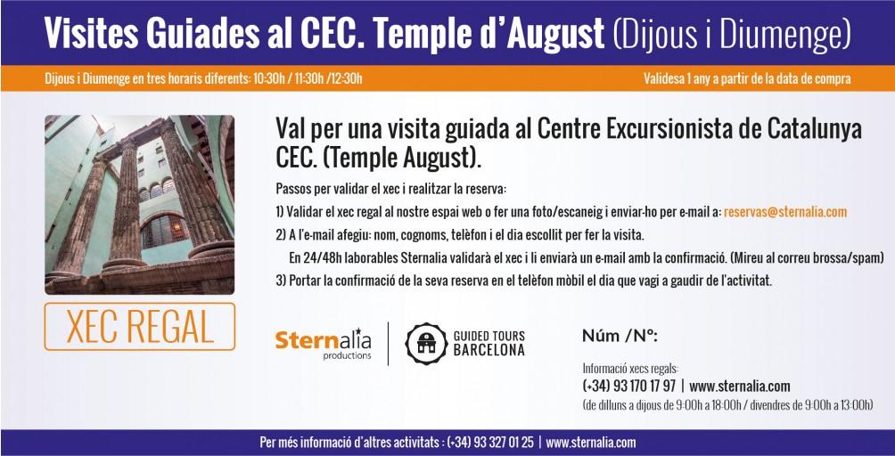 VISITES GUIADES al CEC (Temple d'August)