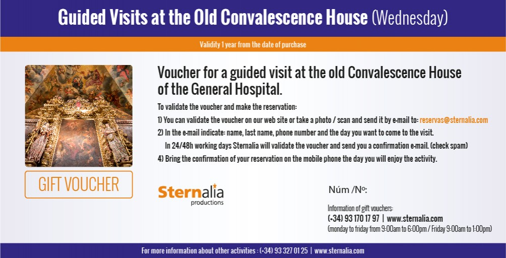 GUIDED VISIT at the old House of Convalescence