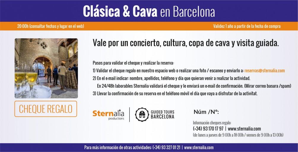 CLÁSICA & CAVA en Barcelona