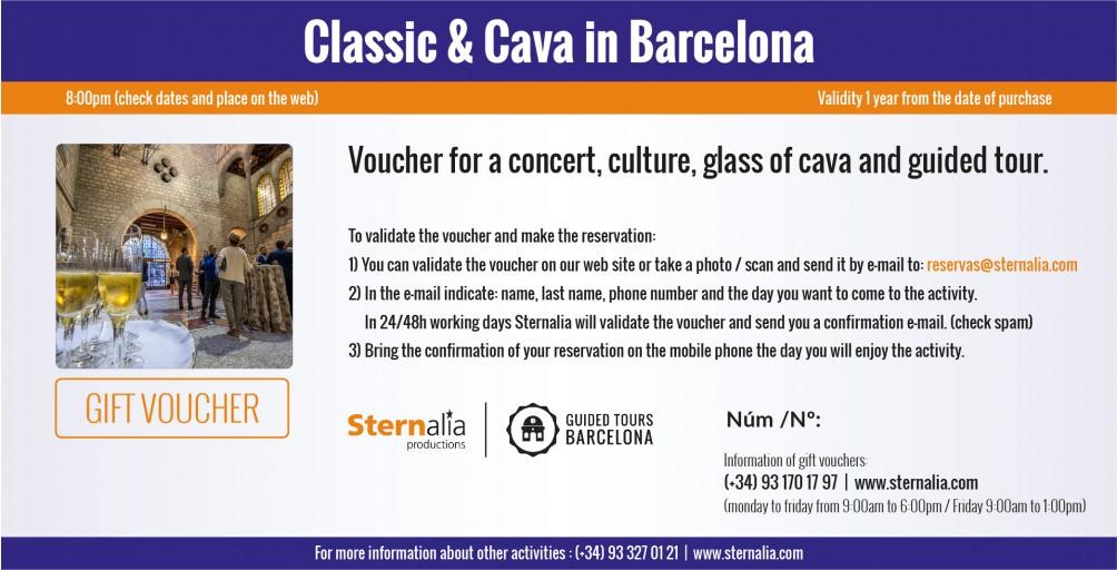 CLASSIC & CAVA in Barcelona