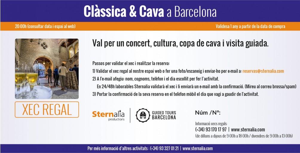 CLÀSSICA & CAVA a Barcelona