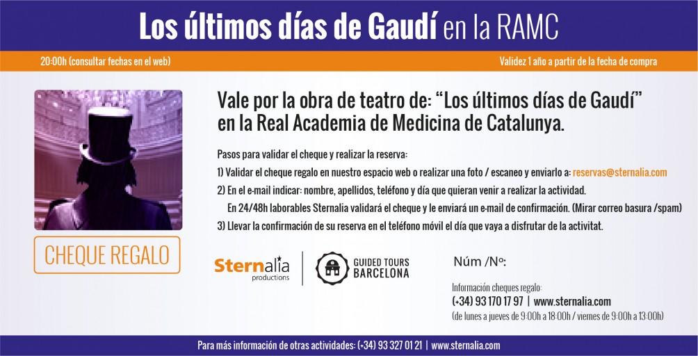 """""""Los últimos días de Gaudí"""""""