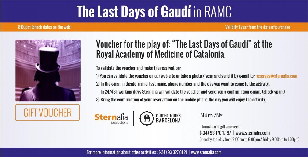 THE LAST DAYS OF GAUDÍ