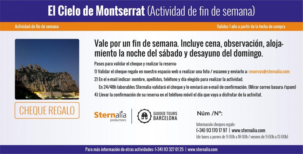 EL CIELO DE MONTSERRAT